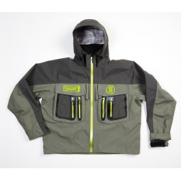 Waterproof wading jacket