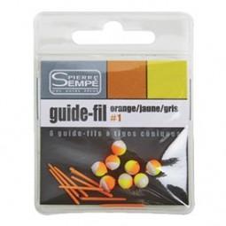 Guide fils Orange-Jaune-Gris