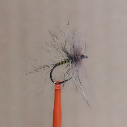 Double hackle fly