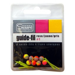 Guide fils Rose-Jaune-Gris