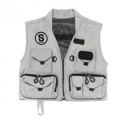 Fishing vest grey